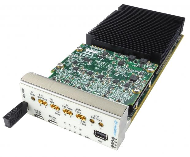AMC599 - Dual ADC @ 6.4 GSPS and Dual DAC @ 12 GSPS, UltraScale, AMC