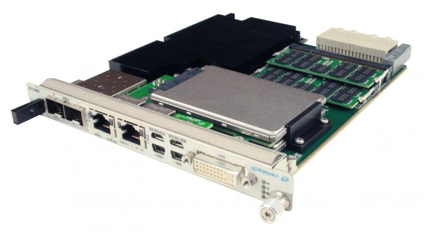 AMC725 - Xeon E3 Processor, 10GbE, MTCA.4, Double Module, AMC