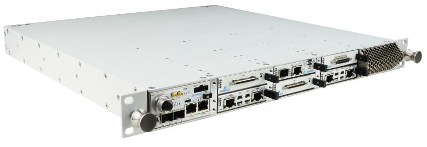 VT950 - 1U Rugged Chassis Platform with 6 AMC Slots