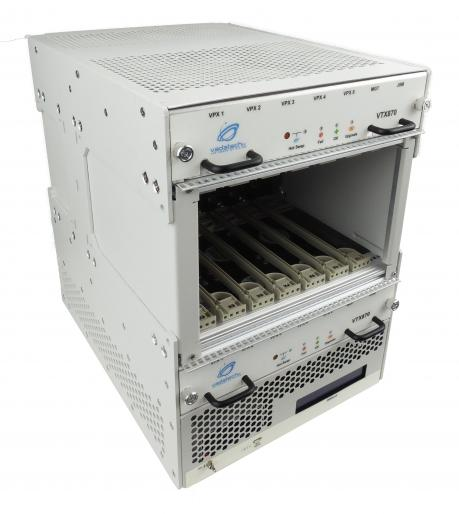 VTX870 - 7U VPX Benchtop Chassis, Six 3U Slots with RTM Support