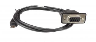 CBL003 - RS-232 Adaptor Cable, MicroUSB to DB-9
