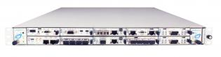 VT851 - 1U Chassis, Deep, 12 AMC, Open Fabric on Ports 4-7