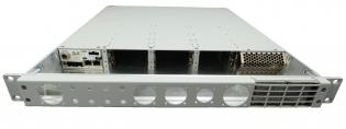 VT955 - 1U Rugged Chassis Platform with 6 AMC Slots