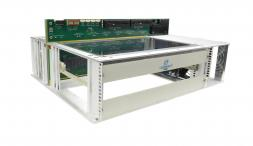 VTX991 - One Slot 6U VPX Benchtop Development Chassis with RTM (P4 to P6 and six VITA 66.5)